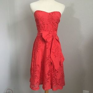 G by Guess strapless dress